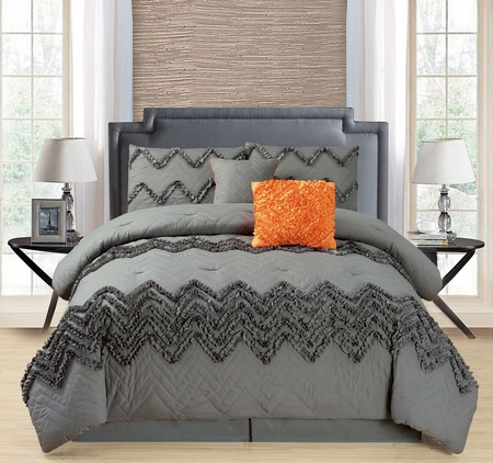 6 Piece Chilco Comforter Set