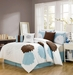 7 Piece King Louisburg Applique Comforter Set