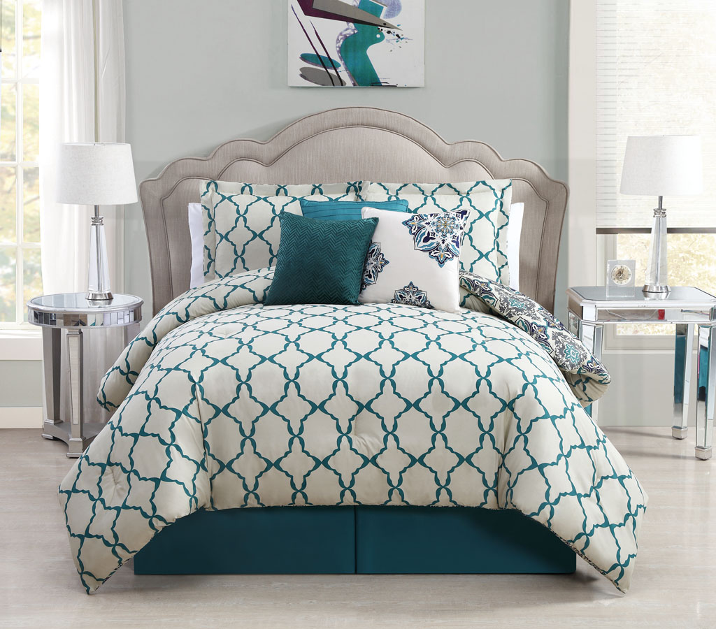 Grey and teal comforter sets 28 images reversible Teal bedding sets