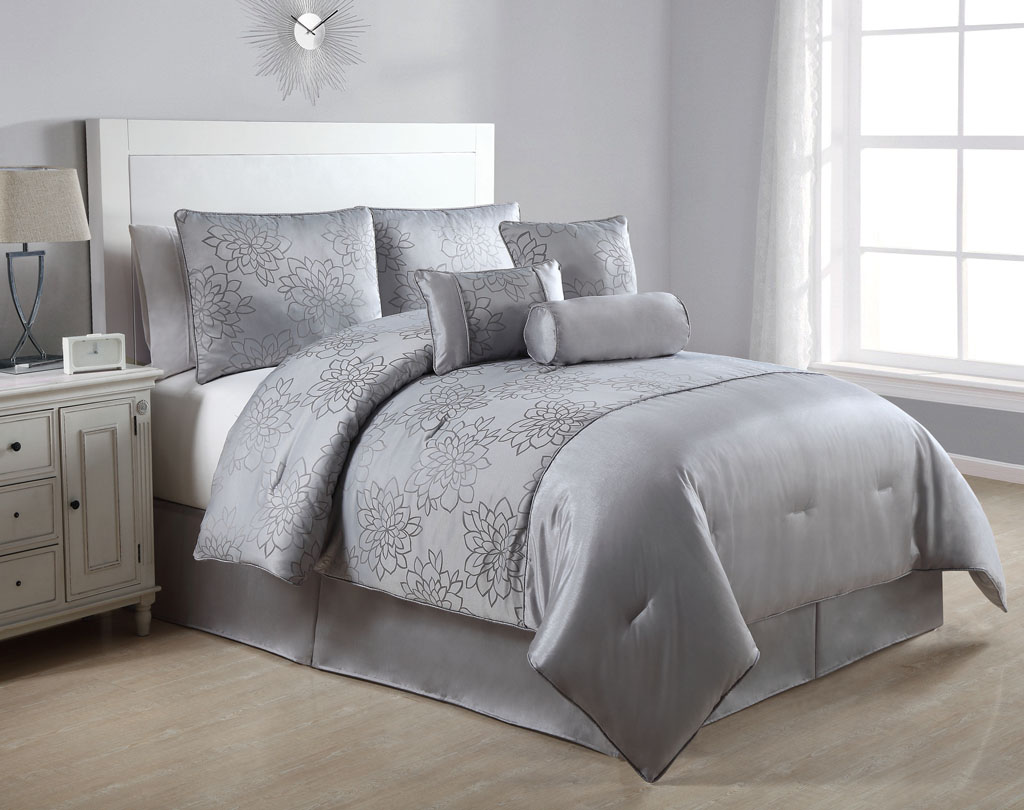 Black and grey comforter sets queen 2017 2018 best for Popular bedding 2017