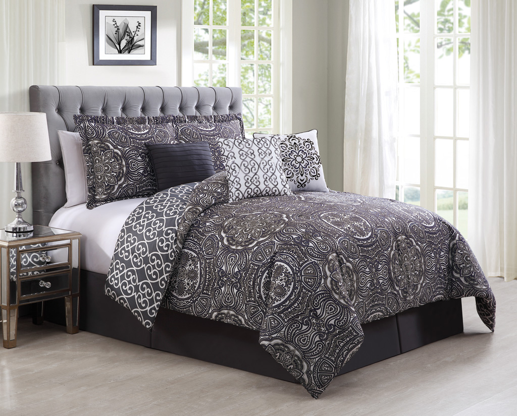 design cover id gray duvet piece pin full in intelligent queen elle size comforter set