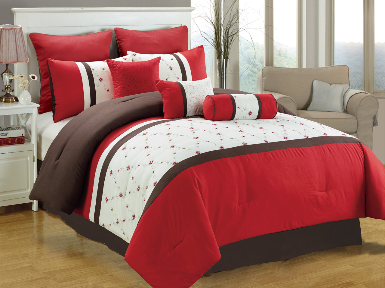 Red And White Bedding Excellent Red And White Bedding