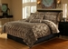 7 Piece King Leopard Animal Kingdom Bedding Comforter Set
