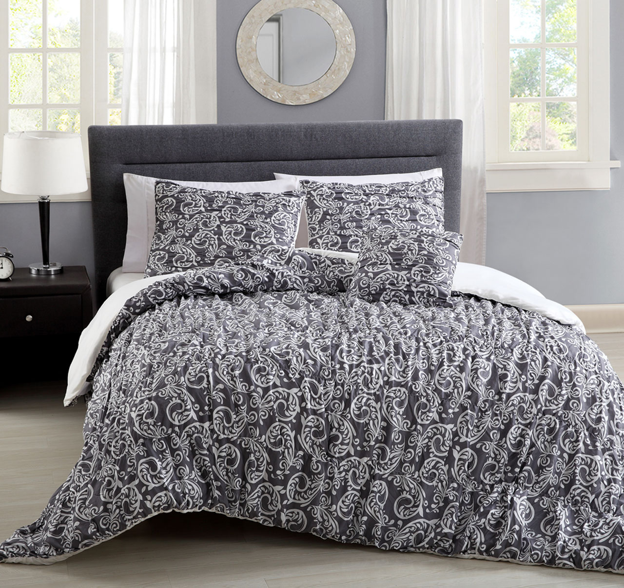 8 Piece Carmelle Bed In A Bag Set