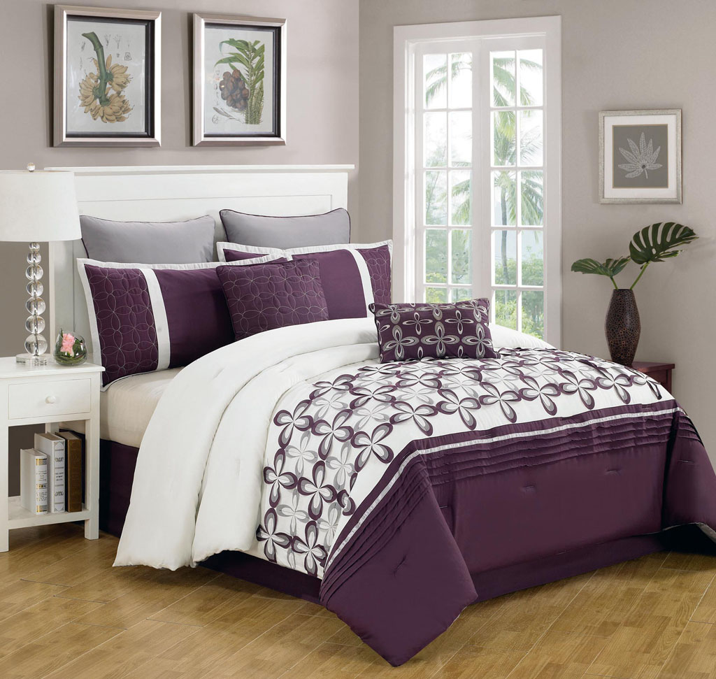 Queen bed comforters sets roole for Dormitorio turquesa y beige