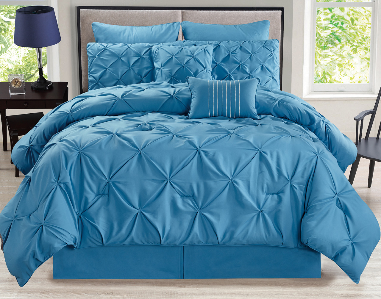 sets home modern chic tropical aqua bedding pin comforter comforters color set blue teal in beach beautiful grey ebay pillows garden