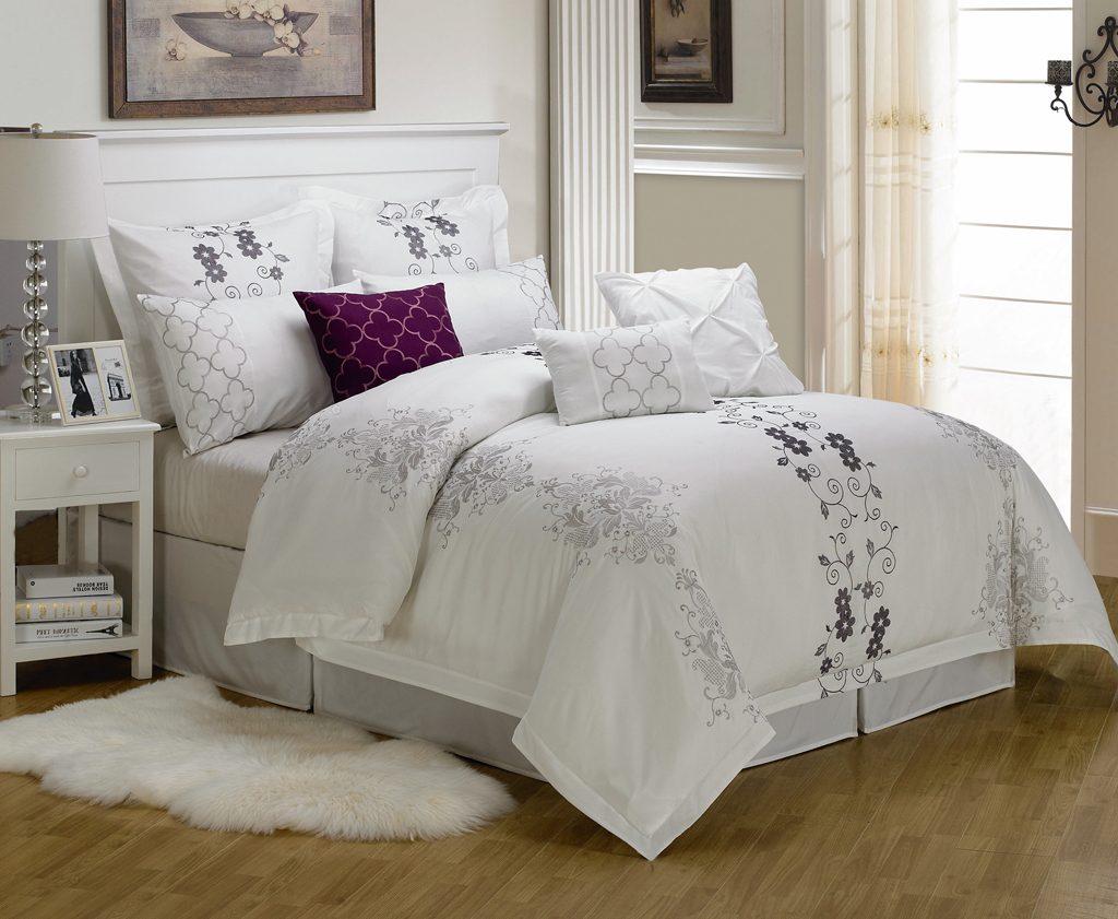 White Bedding Sets Queen Images Galleries With A Bite