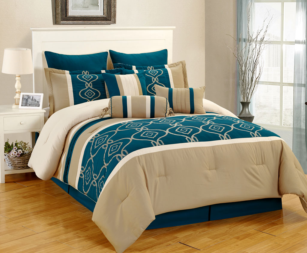 Teal comforter sets car interior design Teal bedding sets