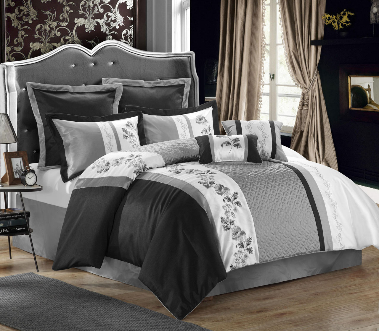 Black Comforter Sets 28 Images Luxurious Black And