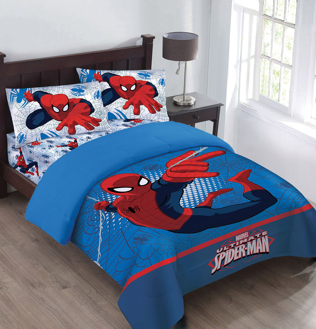 Marvel The Spiderman Webbed Wonder Comforter Set With