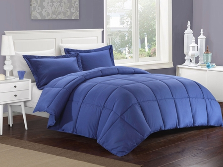 Navy Down Alternative Comforter Set