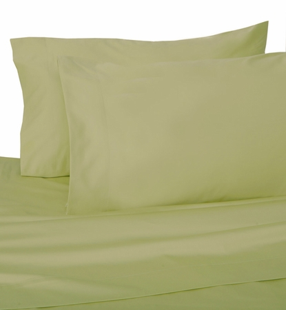 Sage Hotel 600 Thread Count Cotton Sateen Pillowcases King