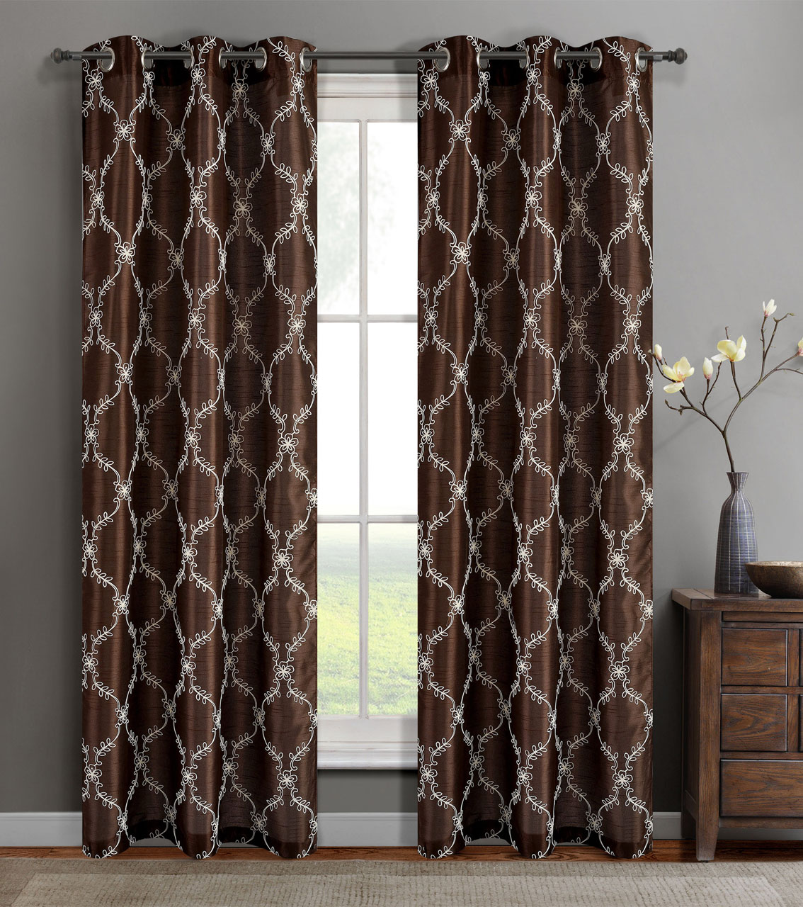 panel wide hampton bahari window treatments house curtains of silk curtain textured blackout single pdp panels extra faux