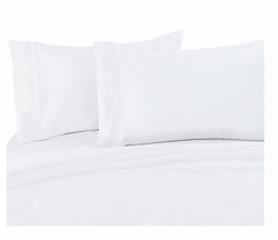 White 300 Thread Count Cotton Sheet Set Twin Extra Long