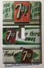 7Up old poster cover