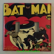 BatMan Comic Book cover Double