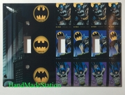 Batman Comics Stamps Triple