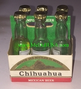 Chihuahua Beer 6 Pack Year 1982 - Mexican