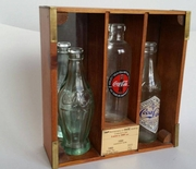 Coke Coca-Cola 100th Annivrsary Bottling Colletors Set Year 1899, 1920, 1915 Limited