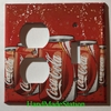 Coke Coca-Cola Can Double Cover plate