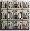 Coke Coca Cola Old bottles Double