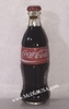 Coke Coca-Cola Rad label Fat Glass miniature bottle
