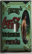 Coke Delicious 5 Cents Old poster Single