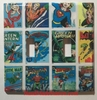 DC Superhero Comics USPS Stamps Double Cover