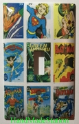 DC Superhero Comis USPS Stamps Aquaman Wonder Woman SuperGirl