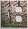 Dire Coke Double Cover plate