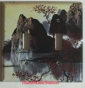 Famous Chinese Landscape Painting Double