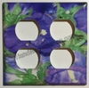 Flash Purple Flower Double cover