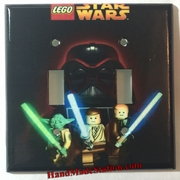 Lego Star Wars Darth Vader Yoda Luke Skywalker Double