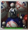 Baseball New York NY Yankees Double