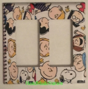 Peanuts Snoopy Charlie Friends on Notebook Double