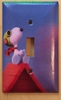 Peanuts Flying Snoopy Cover Plate