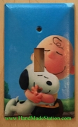 Peanuts Snoopy Charlie Brown Cover Plate