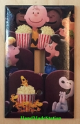 Peanuts Snoopy friends in movie theater