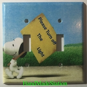 Peanuts Snoopy Turn off the Light Double