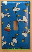 Peanuts Snoopy Woodstock Plate Cover