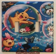 Pokemon Happy Pikachu & Friends Double