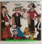 Popeye and Olive Comic book Double