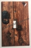 Rustic Barn Wood Door Single Cover
