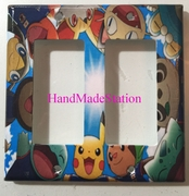 Pokemon and Friends Double Cover Plate