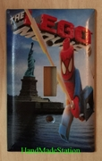 Lego Spiderman in NYC Liberty