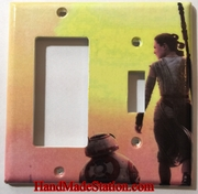 Star Wars BB8 & Rey Double Cover