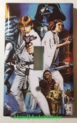 Star Wars Characters Old Poster