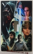 Star wars characters poster Single Cover
