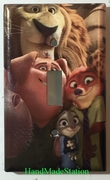 Zootopia Judy Hopps Nick Wilde with Friends
