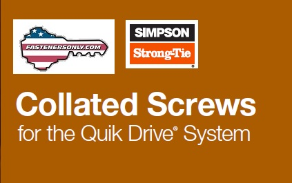 Quik Drive Collated Screws